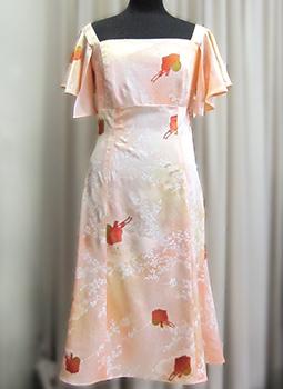 ドレス リメイク後の画像